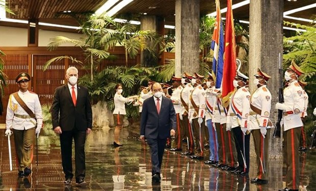 Vietnam y Cuba emiten declaracion conjunta hinh anh 2