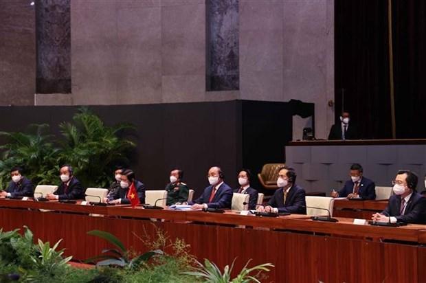 Vietnam y Cuba emiten declaracion conjunta hinh anh 3