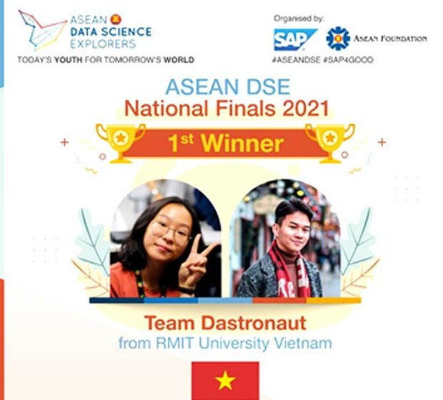 Universidad vietnamita asistira a ronda final del Concurso regional de Ciencia de datos hinh anh 2