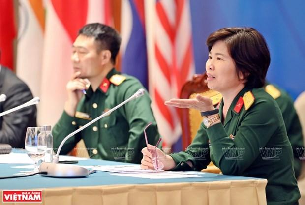 La destacada labor de una oficial vietnamita en la Republica Centroafricana hinh anh 2