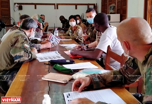 La destacada labor de una oficial vietnamita en la Republica Centroafricana hinh anh 3