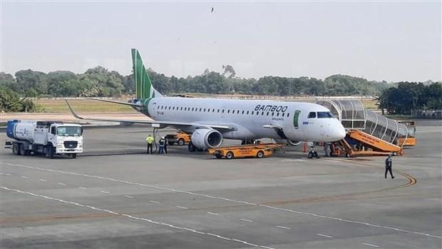 Rubrican acuerdo por dos mil millones de dolares Bamboo Airways y General Electric hinh anh 1