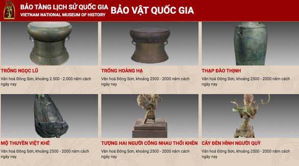 Museo Nacional de Historia de Vietnam se transforma con aplicacion de tecnologia digital hinh anh 1