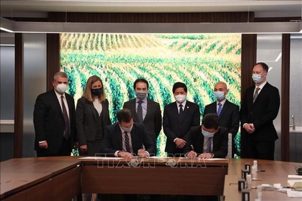 Vietnam y Estados Unidos fortalecen cooperacion en agricultura hinh anh 1