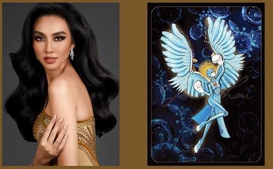 Elige traje nacional representante de Vietnam en Miss Grand International 2021 hinh anh 1