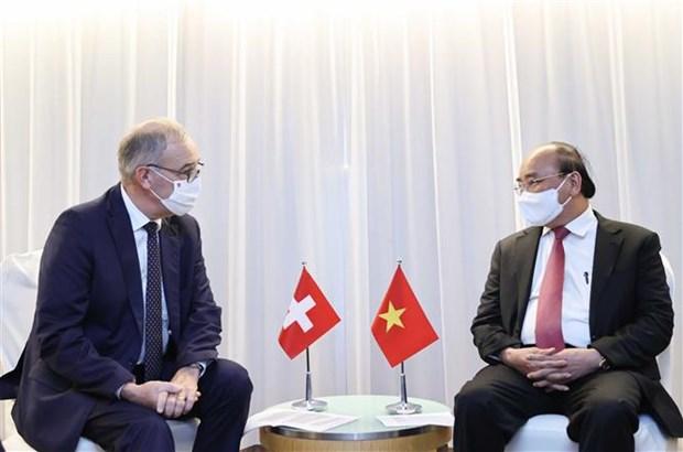 Presidente de Vietnam continua agenda de trabajo en Nueva York hinh anh 2