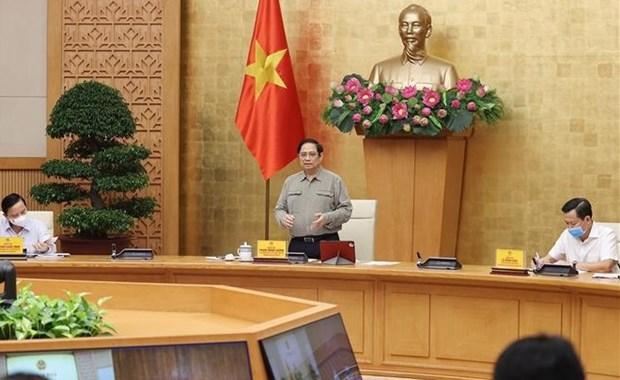 Primer ministro de Vietnam insta a cumplir seriamente medidas antipandemicas hinh anh 1
