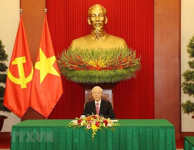 Vietnam concede importancia a la asociacion de cooperacion estrategica integral con China hinh anh 2