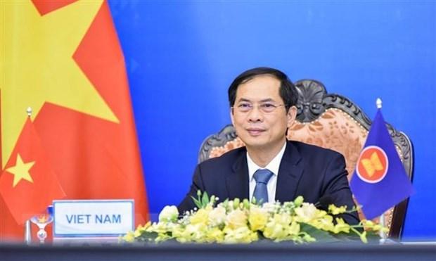 Visita a Rusia del canciller vietnamita fortalecera la asociacion estrategica integral bilateral hinh anh 1