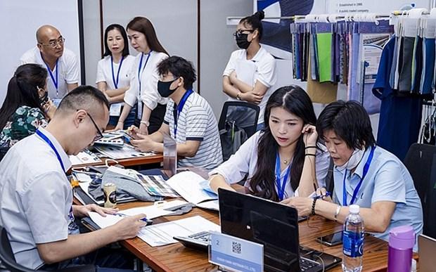Efectuaran feria de promocion comercial del sector textil de Vietnam y Taiwan (China) hinh anh 1