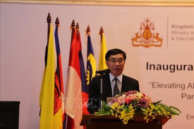 Inauguran iniciativa de Vietnam en actividades contra minas en la region hinh anh 2