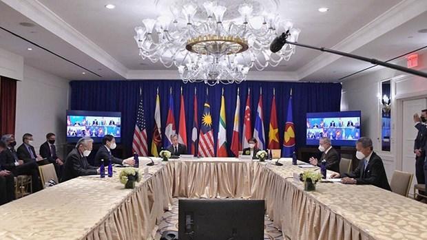 Diplomaticos vietnamitas sostienen encuentros bilaterales en Nueva York hinh anh 1