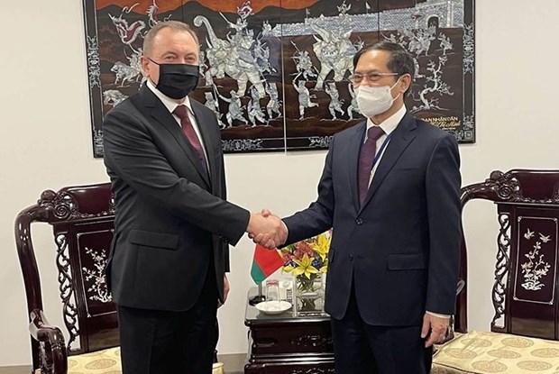 Diplomaticos vietnamitas sostienen encuentros bilaterales en Nueva York hinh anh 2