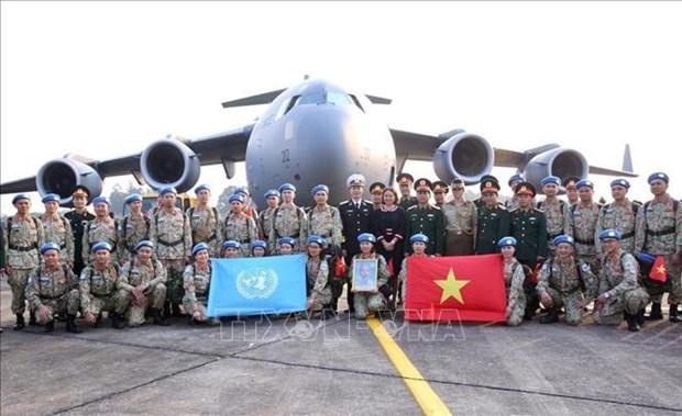 Vietnam seguira contribuyendo a actividades de la ONU en Sudan del Sur hinh anh 1