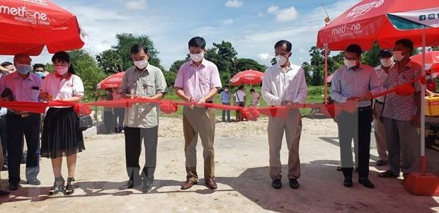 Vietnam financia construccion de puente de amistad en provincia camboyana de Kampot hinh anh 1