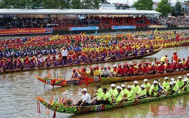 Provincia vietnamita cancela festival de remo tradicional para prevenir COVID-19 hinh anh 1