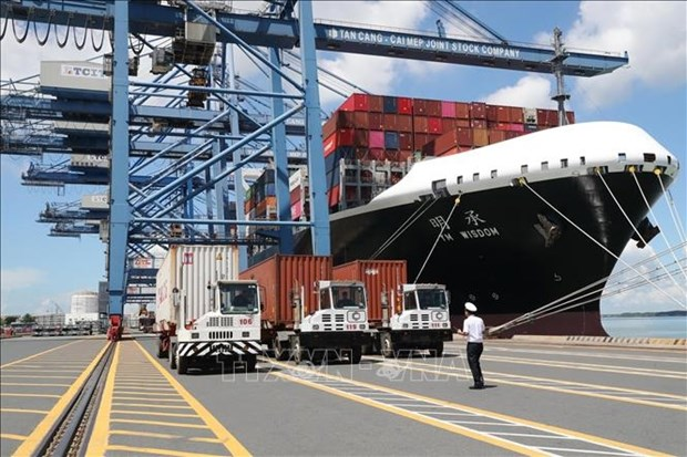 Volumen de carga a traves puertos maritimos de Vietnam mantiene aumento hinh anh 1