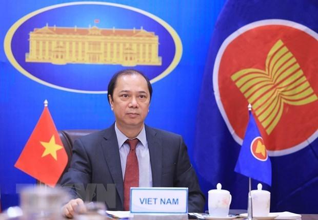 Vietnam propone aceleracion de compra de vacunas para paises miembros de la ASEAN hinh anh 1