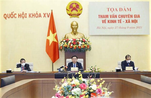 Coloquio de expertos analiza asuntos socioeconomicos de Vietnam hinh anh 1