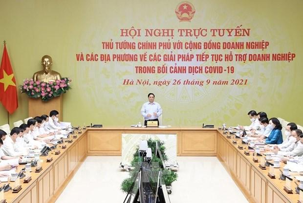 Proponen en Vietnam soluciones para resolver dificultades de las empresas en medio del COVID-19 hinh anh 2