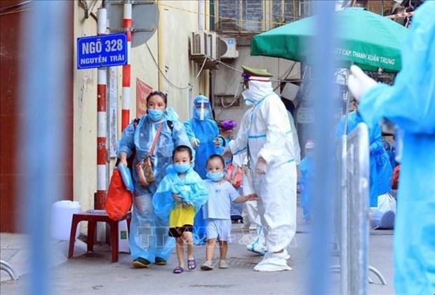 Ofrecen en Ciudad Ho Chi Minh apoyo a ninos afectados por COVID-19 hinh anh 2