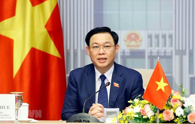 Presidente del Parlamento vietnamita dialogara con empresas de EE.UU. hinh anh 1