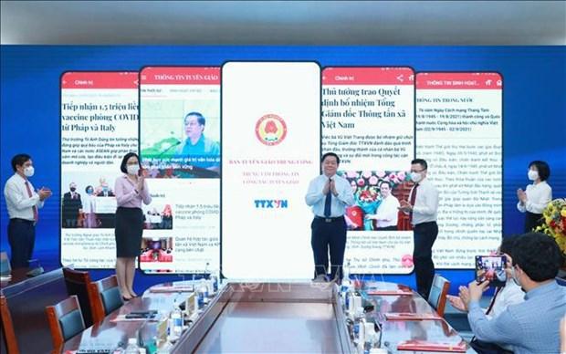 Comision de Propaganda y Educacion del PCV presenta aplicacion de informaciones hinh anh 2