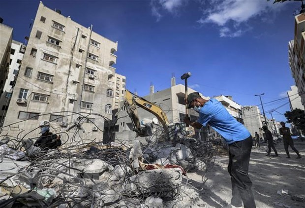 Vietnam preocupado por aumento de violencia y situacion humanitaria en Gaza hinh anh 1