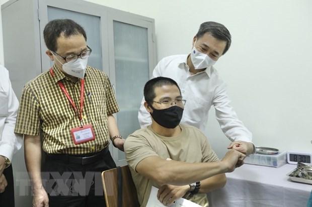 Lanzan ensayos clinicos de las fases 2 y 3 de la vacuna ARCT-154 producida por Vietnam hinh anh 1