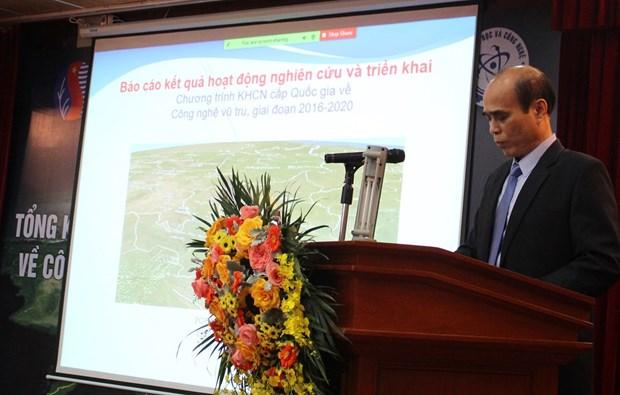 Vietnam alcanza resultados en investigacion de tecnologia espacial hinh anh 2
