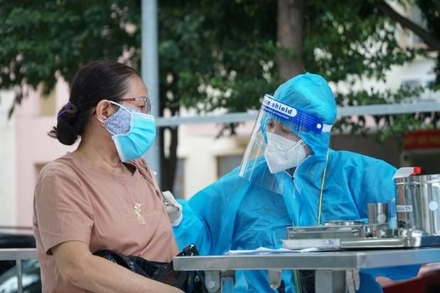 Ciudad Ho Chi Minh se prepara para vacunar a estudiantes mayores de 12 anos hinh anh 1