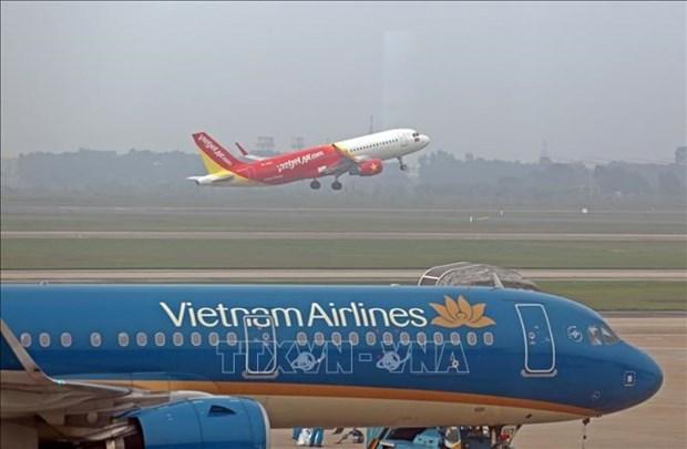 Proponen plan para vuelos domesticos desde y hacia Hanoi hinh anh 1