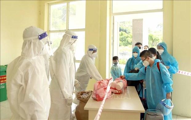 Vietnam cierra domingo con tres mil 528 casos nuevos del COVID-19 hinh anh 1