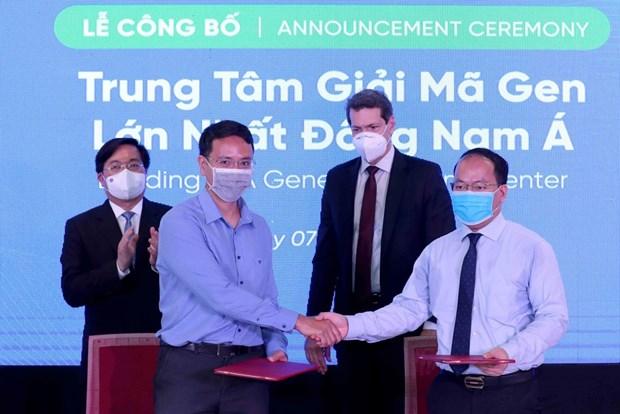 Establecen en Vietnam el mayor centro de decodificacion de genes de Sudeste Asiatico hinh anh 1