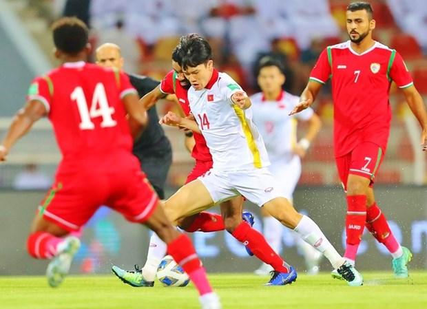 Pierde Vietnam ante Oman en eliminatoria mundialista de futbol hinh anh 1