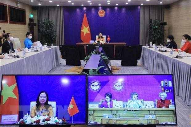 Propone Vietnam recomendaciones para fomentar papel de mujeres de Asia y Europa hinh anh 1