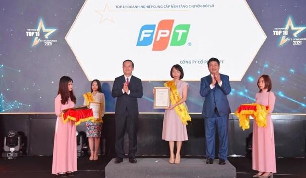 Grupo FPT conquista galardones en programa nacional de tecnologia informatica hinh anh 1