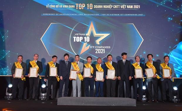 Grupo FPT conquista galardones en programa nacional de tecnologia informatica hinh anh 2