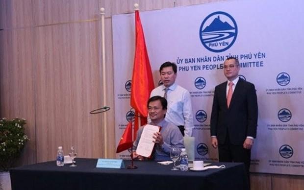 Firman acuerdo sobre financiacion de equipos de congelacion para provincia vietnamita hinh anh 1