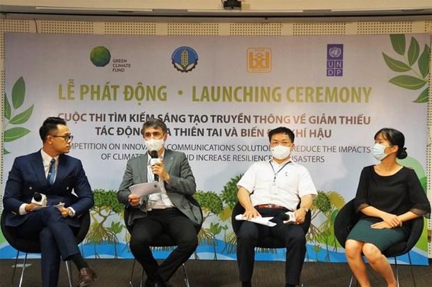 Lanzan concurso sobre creatividad de medios por mitigar impactos del cambio climatico hinh anh 1