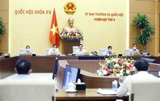 Comite Permanente del Parlamento vietnamita debate uso del terreno nacional hinh anh 1
