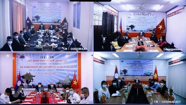 Destacan contribuciones de empresas vietnamitas al desarrollo socioeconomico laosiano hinh anh 2