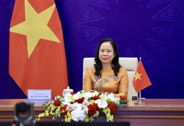 Propone Vietnam recomendaciones para fomentar papel de mujeres de Asia y Europa hinh anh 2