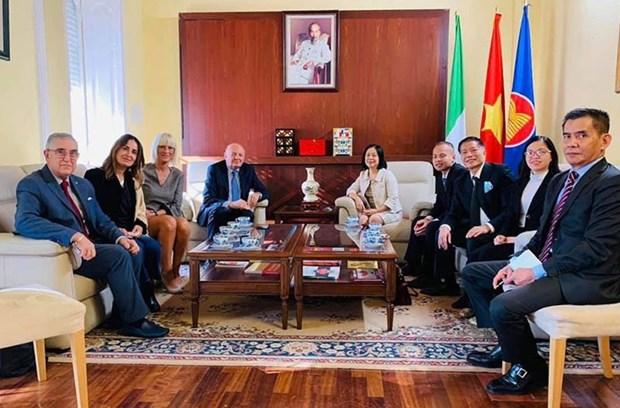 L'Italia punta a rafforzare i legami con il Vietnam Hin On 1