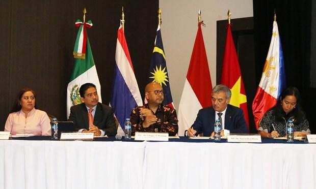 Promueven paises de ASEAN en Mexico comercio con estado de Yucatan hinh anh 1