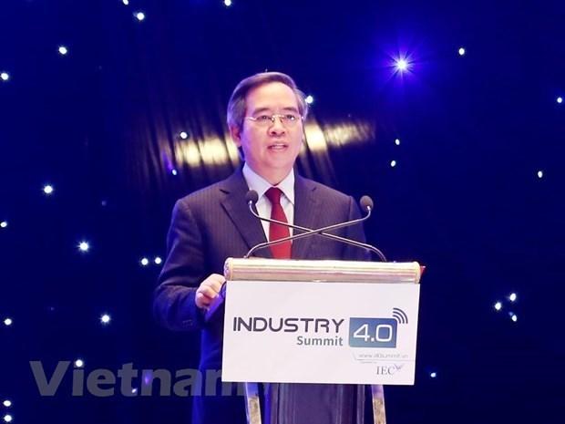 Vietnam debe aprovechar la Industria 4.0 para convertirse en un pais desarrollado hinh anh 3