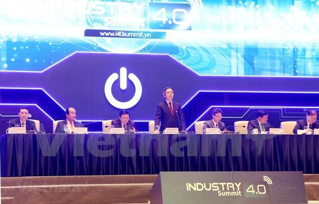 Vietnam debe aprovechar la Industria 4.0 para convertirse en un pais desarrollado hinh anh 1