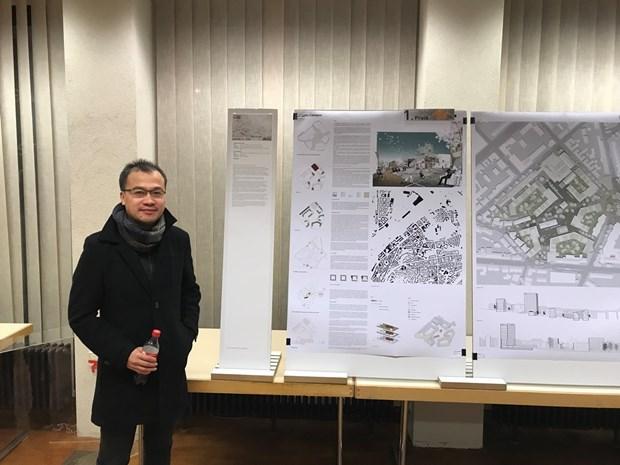 Gana arquitectos vietnamitas primer premio en diseno de planificacion en Alemania hinh anh 2