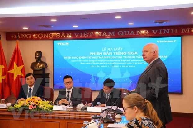 Estrena periodico electronico VietnamPlus version en idioma ruso hinh anh 5