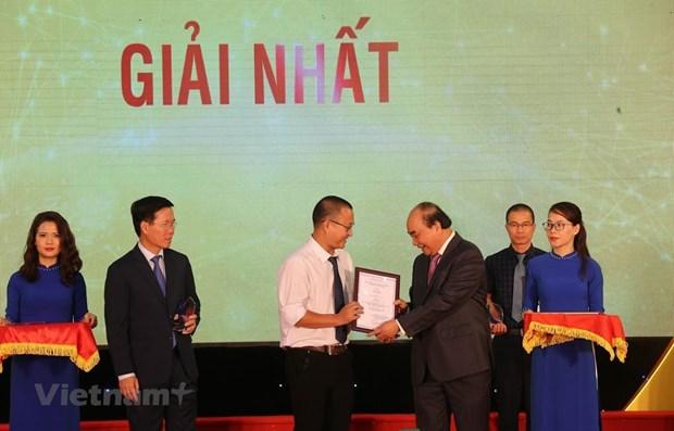 VietnamPlus gana primer titulo del Premio Nacional de Informacion al Exterior hinh anh 1